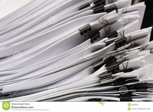 http://www.dreamstime.com/royalty-free-stock-photo-stack-documents-image8634005